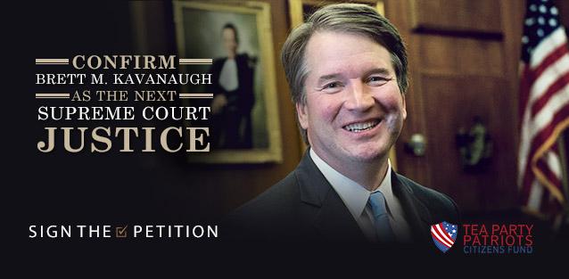 Confirm Brett M. Kavanaugh as the Next Supreme Court Justice
