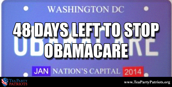 48 Days to Stop Obamacare Thumb