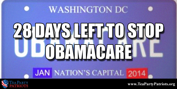 28 Days to Stop Obamacare Thumb